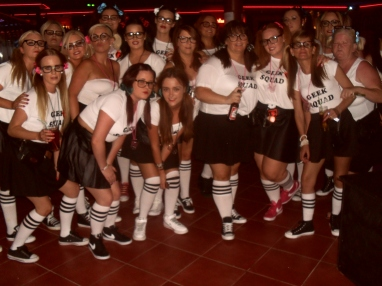 An Irish hen party